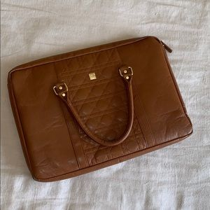 """IEdesigned Faux Leather Laptop Bag 15"""""""